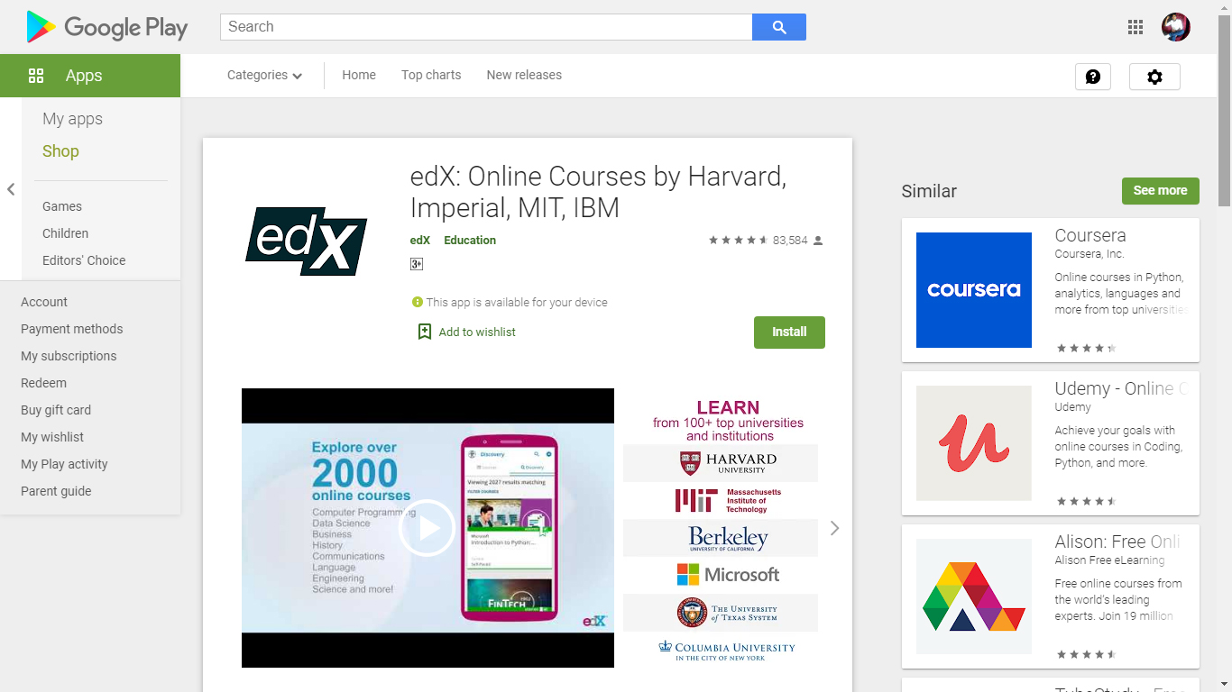 edX: Online Courses by Harvard, Imperial, MIT, IBM