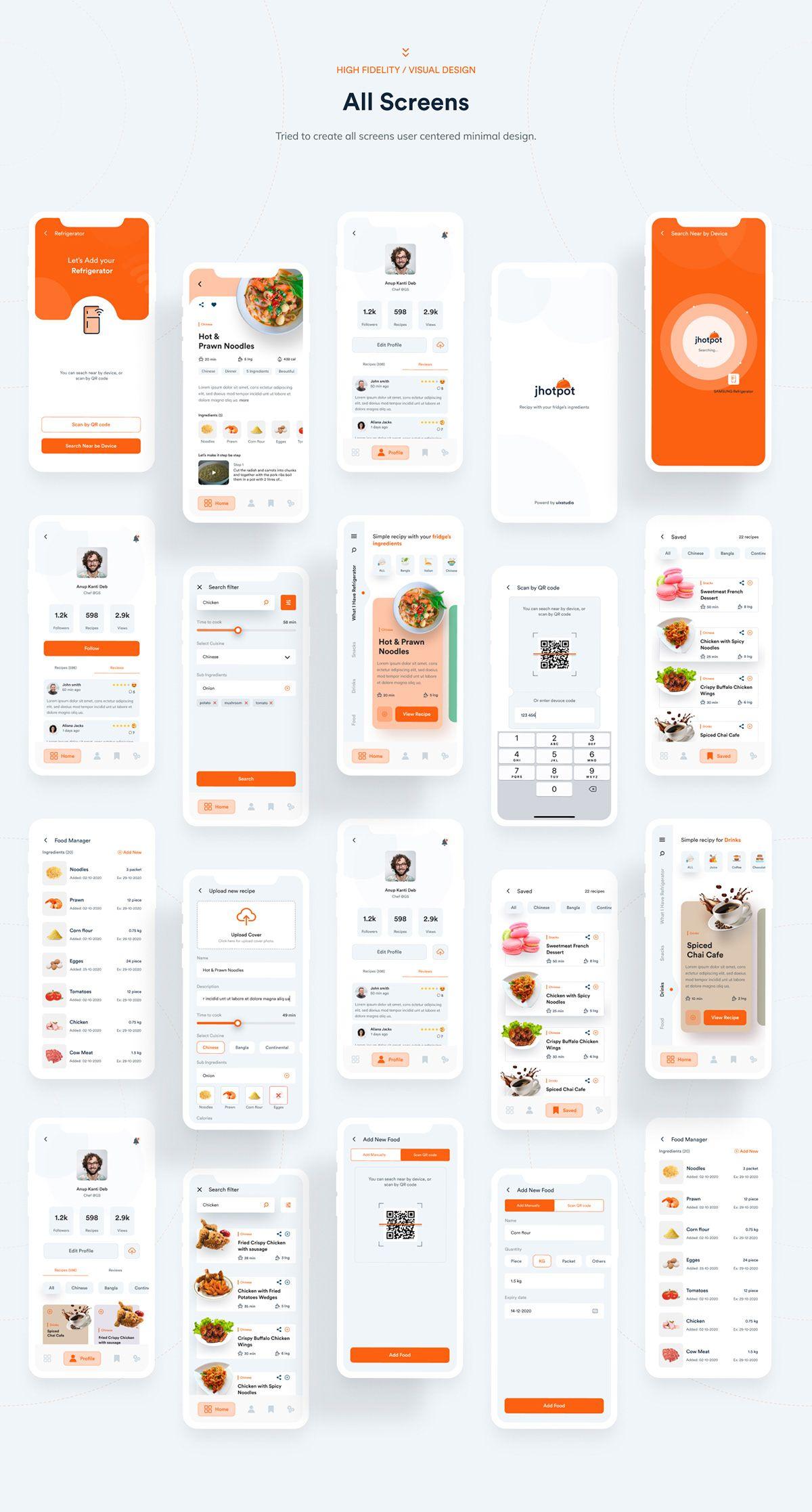 Jhotpot Recipe App Case Study